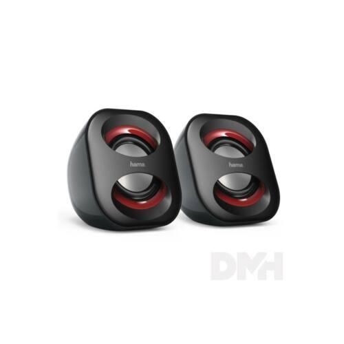 "Hama 173131 ""SONIC MOBILE 183"" USB tápellátású fekete hangszóró"