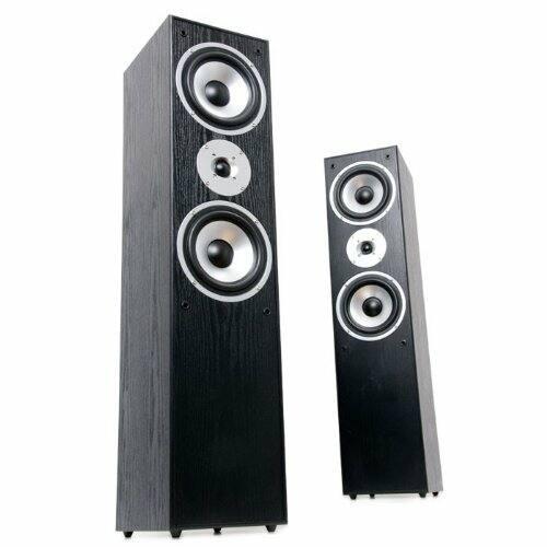 AEG LB4711 hangfalpár FEKETE, 180W szinusz/350W zenei teljesítmény - Sérült csomagolás