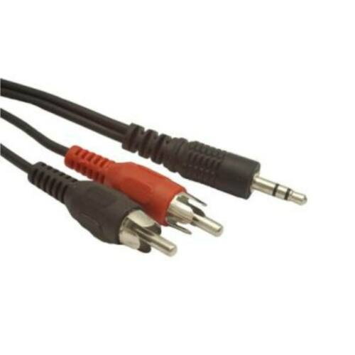 Gembird audio kábel Jack 3.5mm apa / 2x RCA (CINCH) apa, 20m