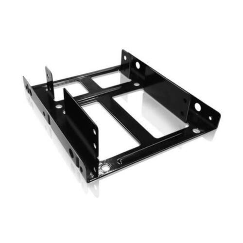 IcyBox Internal Mounting frame 3,5 ' for 2x 2.5', Black