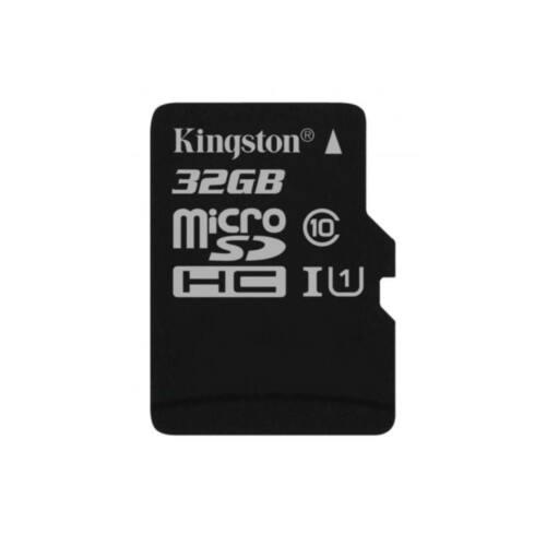 Kingston 32GB microSDHC Canvas Select 80R CL10 UHS-I Single Pack adapter nélkül