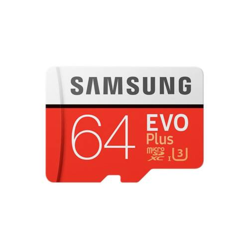 Memory card Samsung Evo Plus microSDXC 64GB CL10 UHS1