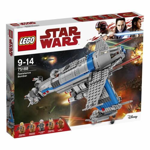 LEGO Star Wars 75188 Ellenállás oldali bombázó - Szépséghibás