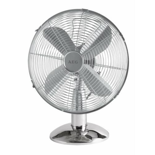 AEG VL5525 asztali fém ventilátor, 25cm, 3 sebesség, 30W - Bontott