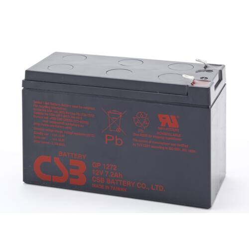 CSB GP1272 F2 akkumulátor, 12V/7.2Ah