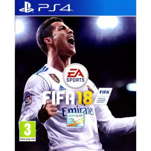 Fifa 18 (English/Arabic Box) (PS4) Játékprogram