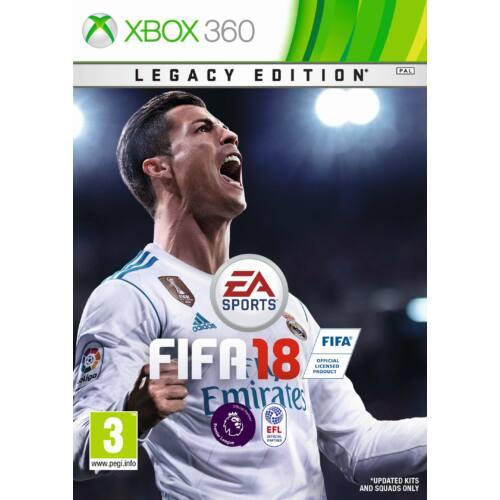 FIFA 18 XBOX360 játékszoftver