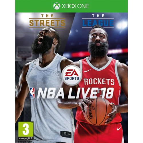 NBA LIVE 18 Xbox One CZ/SK/HU/RO