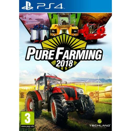 Pure Farming 2018 (PS4) Játékprogram