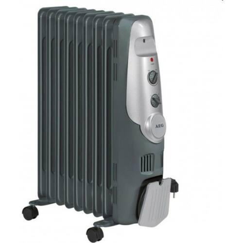AEG RA5521 9 tagú olajradiátor, 3 telj. szint, 2000W - Sérült csomagolás