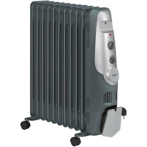 AEG RA5522 11 tagú olajradiátor, 3 telj. szint, 2200W - Sérült csomagolás