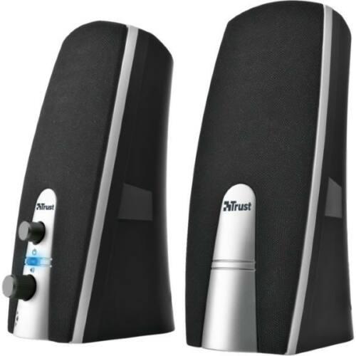 Trust MiLa 2.0 jack 10W fekete-ezüst hangszóró - Bontott csomagolás