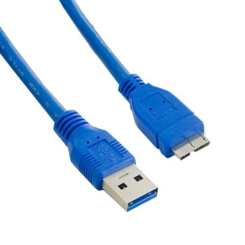 4World Kábel USB 3.0 AM- Micro BM 0.5m  kék