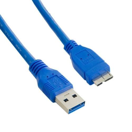 4World Kábel USB 3.0 AM- Micro BM 0.5m| kék