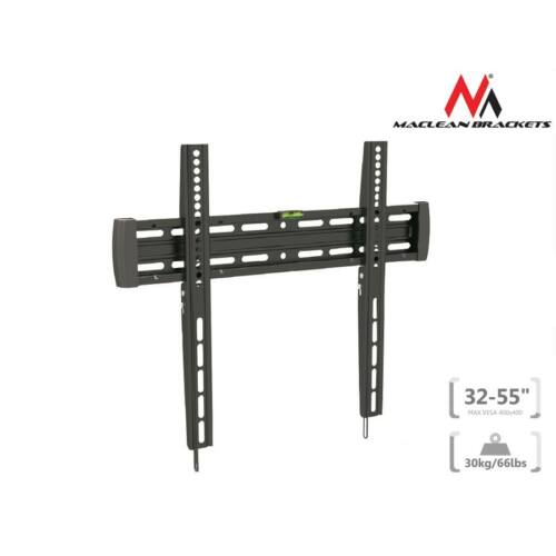 Maclean MC-643 Ultra Slim TV Wall Mount Bracket LCD LED Plasma Flat Curved 32-55