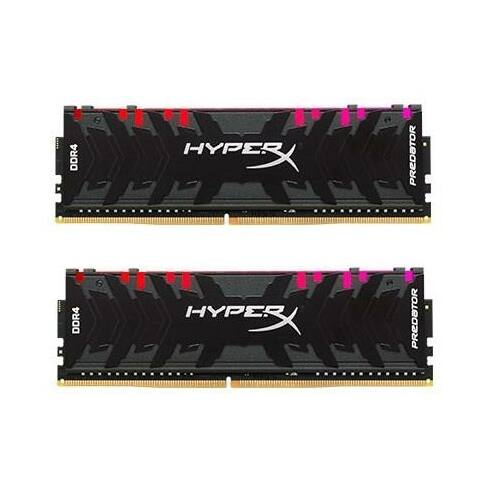 Kingston HyperX Predator RGB 16GB 3200MHz DDR4 CL16 DIMM (Kit of 2) XMP