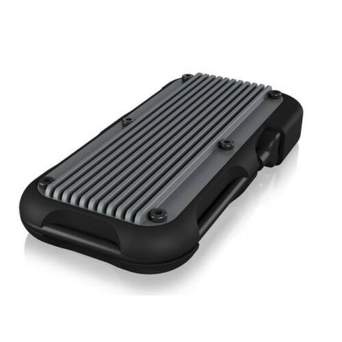 IcyBox megerősített külső lemez ház M.2 NVMe SSD, USB 3.1 Type-C