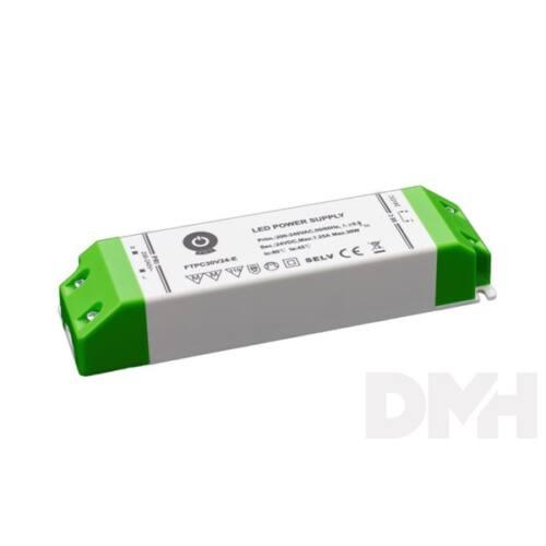POS POWER FTPC30V24-E 24V/1.25A 30W IP20 gazdaságos LED tápegység