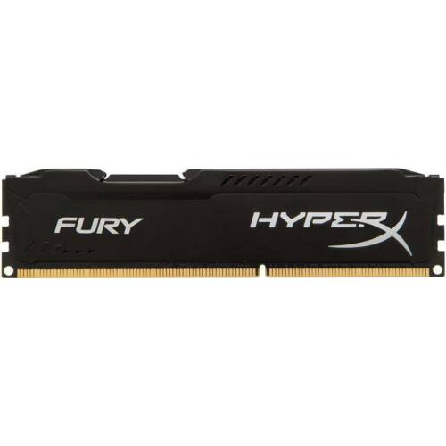 DDR4 Kingston HyperX Fury Black 4GB 2666MHz CL15 1.2V, PC421300
