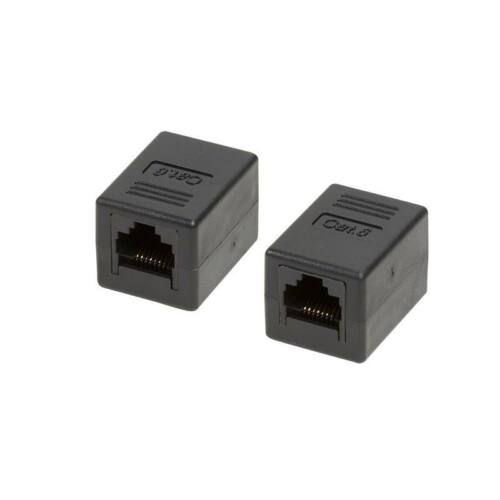 LOGILINK - csatolóelem, 1:1 Cat.6 RJ45 UTP, fekete