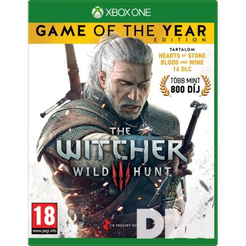 The Witcher 3: The Wild Hunt - Game Of The Year Edition XBOX One játékszoftver