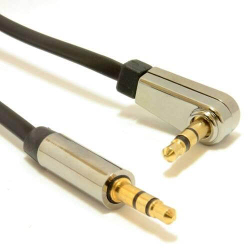 Gembird Jobb szög 3,5 mm-es sztereó audiokábel, 1.8m