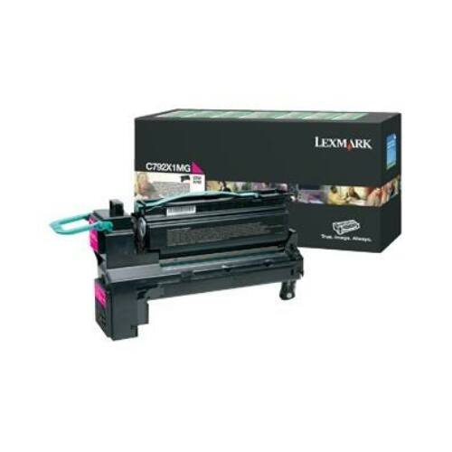 Lexmark magenta toner  return   20000old   C792