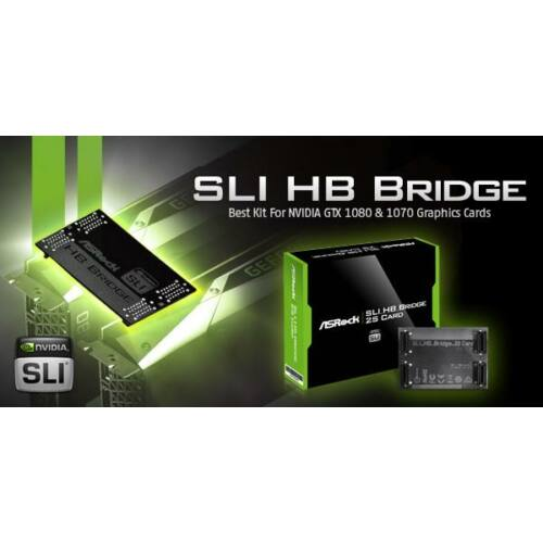 ASRock SLI HB Bridge 2 Slot