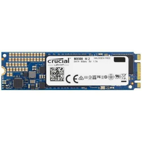Crucial MX500 SSD, M.2, 250GB, SATA/600, 3D NAND