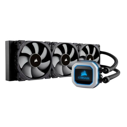 Corsair Hyrdo Series H150i Pro RGB Liquid CPU Cooler,3x ML Series 120mm PWM Fans