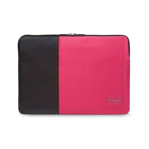 Targus Pulse 13-14'' Laptop Sleeve Black and Rogue Red