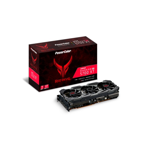 POWERCOLOR Radeon RX 5700XT Red Devil, 8GB GDDR6, HDMI, 3xDP