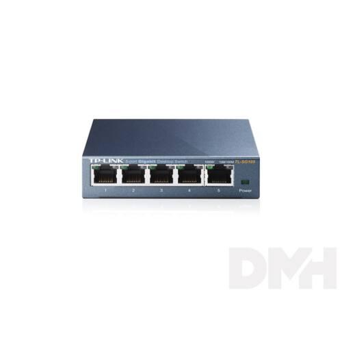 TP-Link TL-SG105 5port 10/100/1000Mbps LAN nem menedzselhető asztali Switch