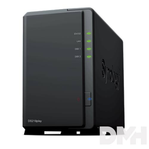 Synology DS218play 2x SSD/HDD NAS