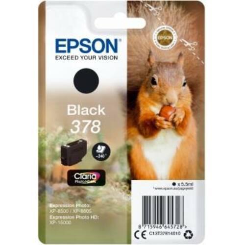Tintapatron Epson fekete  | 5.5ml| Claria Photo HD