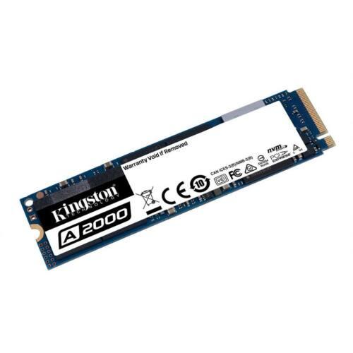 Kingston 250GB SSD A2000 M.2 2280 NVMe PCIe Gen 3.0x4, R/W 2000/1000 MB/s