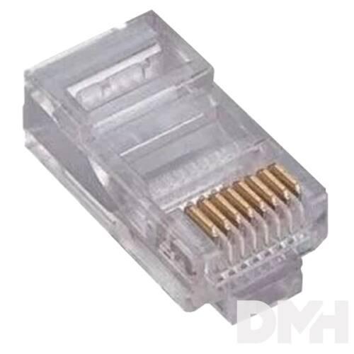 Cat.6 UTP 8P8C dugó fali kábelhez