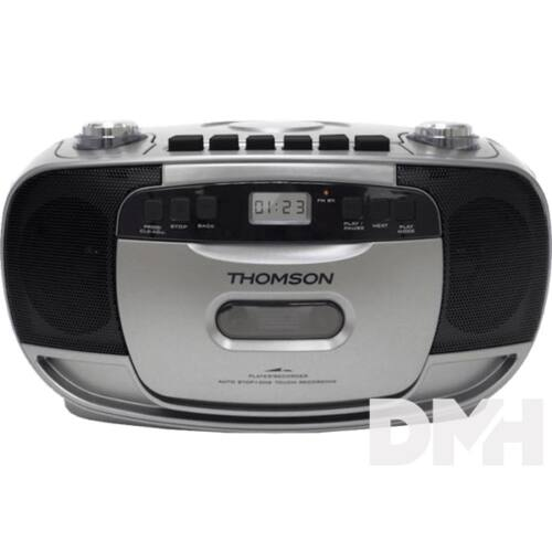 Thomson RK203CD hordozható fekete/ezüst CD-s rádió