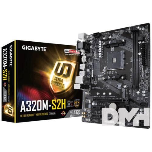 Gigabyte A320M-S2H AMD A320 SocketAM4 mATX alaplap