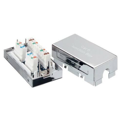Equip csatlakozó doboz, cat.6e LAN kábel, árnyékolt