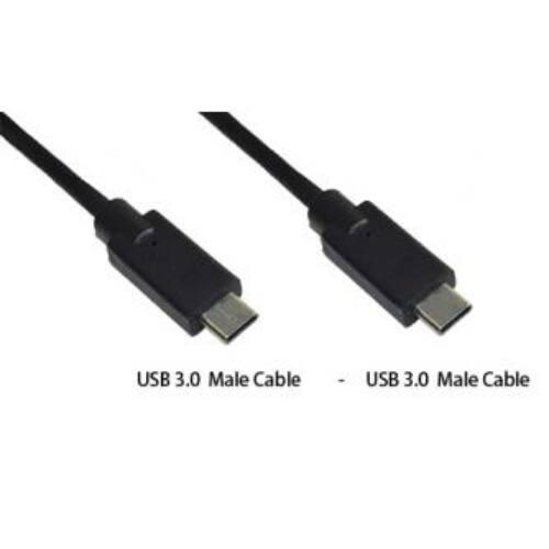 MSONIC USB kábel 3.0 USB-C - USB-C M/M  1m,Adatátvitelhez és töl,MLU686NK fekete
