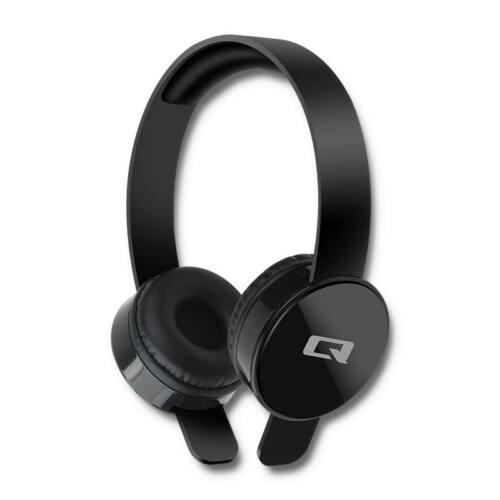 Qoltec Headphones with microphone | Black