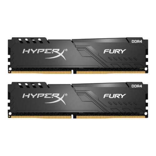 Kingston HyperX FURY 32GB 3200MHz DDR4 CL16 DIMM (Kit of 2) Fekete