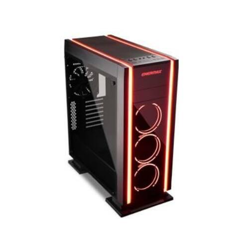Ház ATX ENERMAX Saberay Fkete RGB, tápegység nélkül