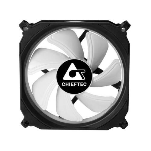 Chieftec CF-1225RGB 1 x RGB case fan TORNADO - 120x120x25mm -  6 pin
