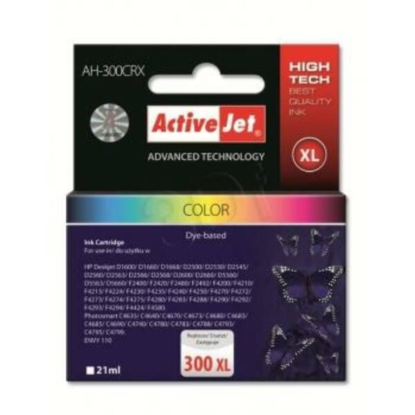 ActiveJet tinta, AH-704CR | színes | 21 ml | HP HP 704 CN693AE