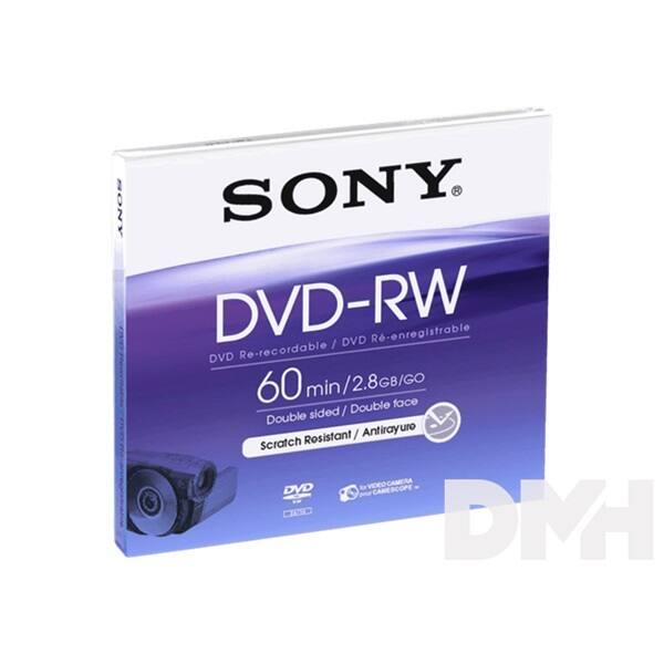 Sony DMW60AJ 8cm, 60 perc DVD-RW lemez