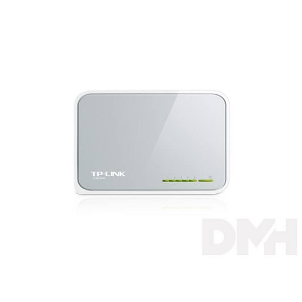 TP-Link TL-SF1005D 5port 10/100Mbps LAN nem menedzselhető asztali Switch