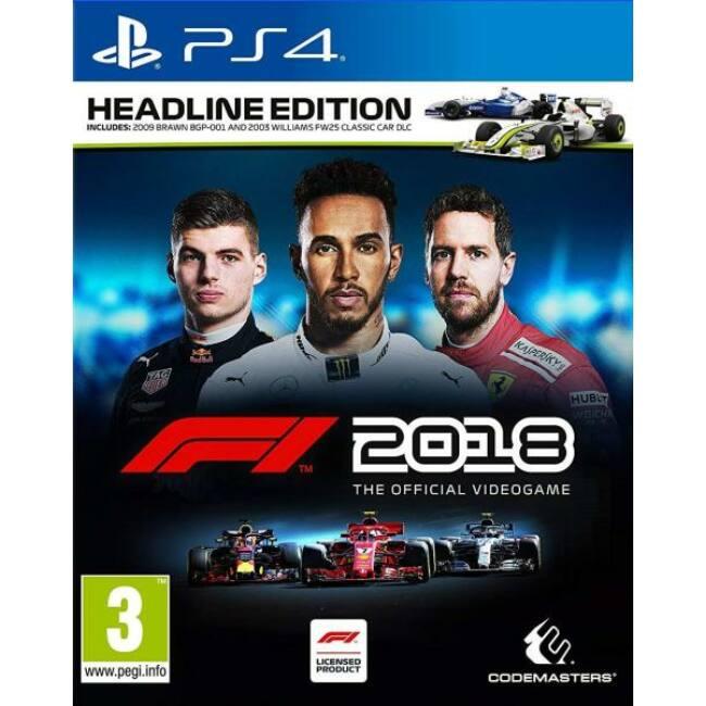 F1 Formula 1 2018: Headline Edition PS4