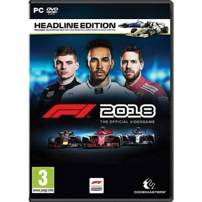 F1 Formula 1 2018: Headline Edition PC